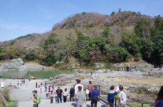 長瀞 石畳と荒川