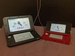 Nintendo 3DS LL シルバー×ブラック